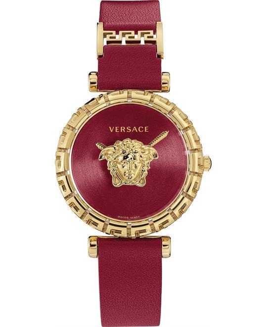 Versace Palazzo Empire Greca Red Watch 37mm