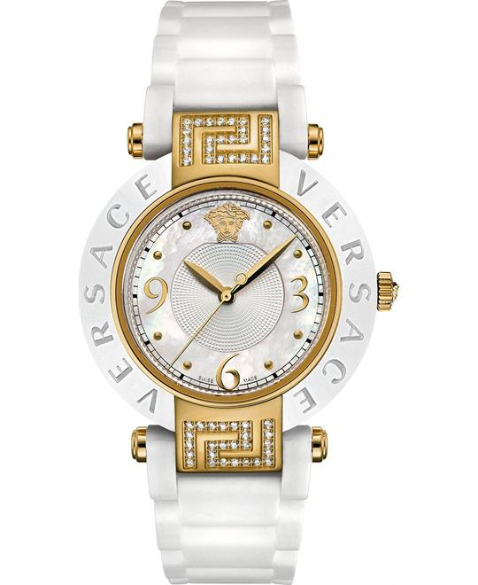Versace Reve 14k Yellow Watch 35mm