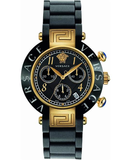 Versace Reve Ceramic Chronograph Watch 39mm