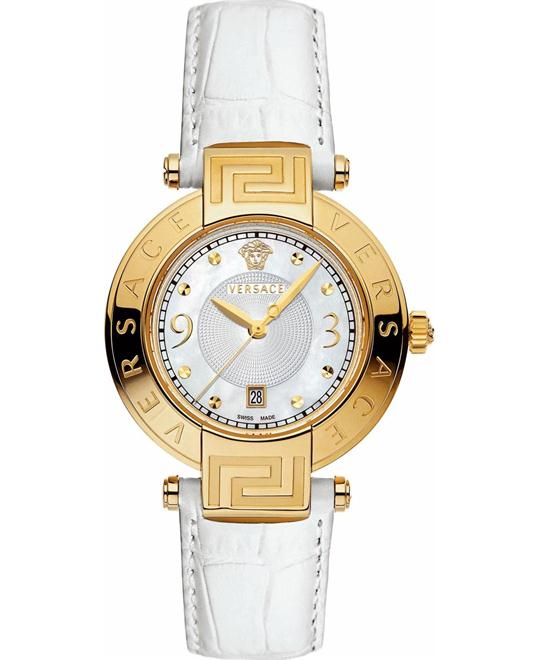 Versace REVE Yellow Gold Ion-Plated Watch 35MM