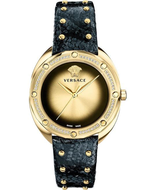 đồng hồ Versace Shadov Diamond (1/3 ct. t.w.) Black Watch 38mm