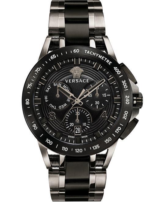 đồng hồ Versace Sport Tech Chronograph Watch 45mm