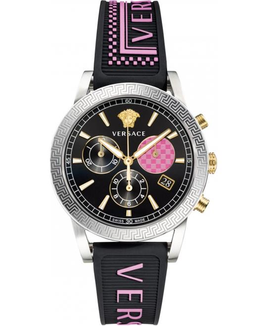 Versace Sport Tech Swiss Chronograph Watch 40mm