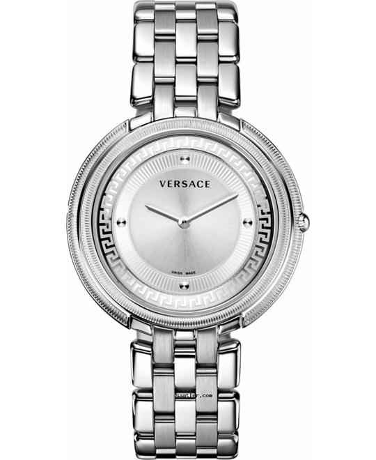 VERSACE Thea Silver Ladies Watch 39mm