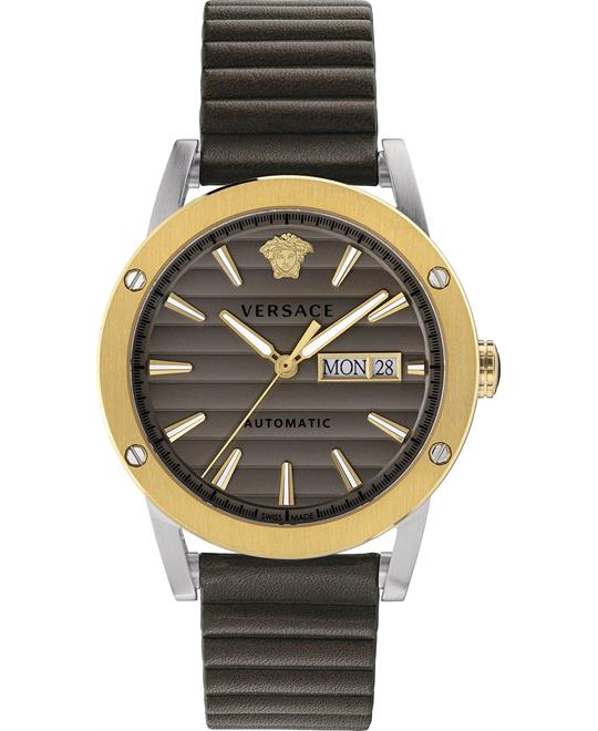 đồng hồ Versace Theros Brown Automatic Watch 42mm