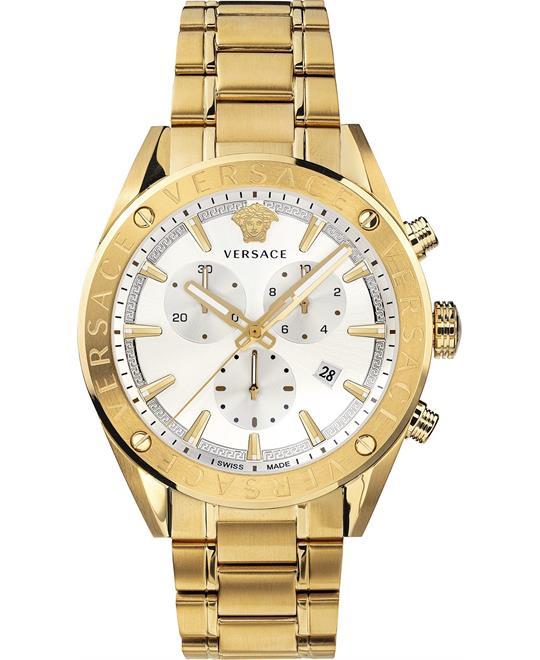 đồng hồ Versace V-Chrono Swiss Watch 44mm