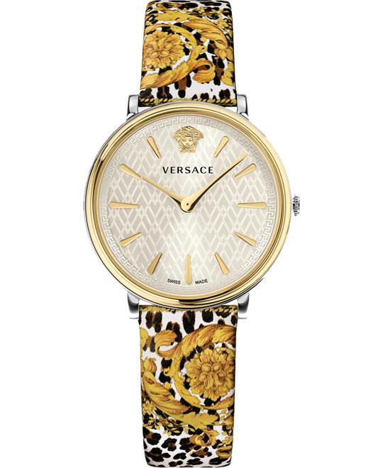 Versace V-Circle Tribute Edition Baroque Animal Print 38mm