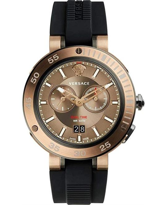 Versace V-Extreme Chronograph Watch 46mm