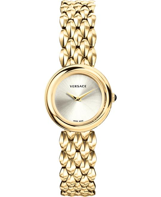 Versace V-Flare Tone and Gold Plated Watch 28mm