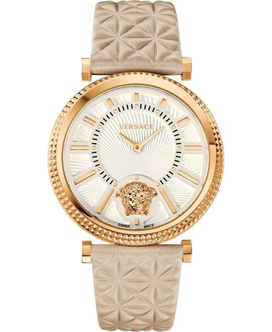 Versace V-Helix Quartz Watch 38mm