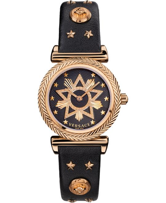 Versace V-Motif Bronze Watch 35mm