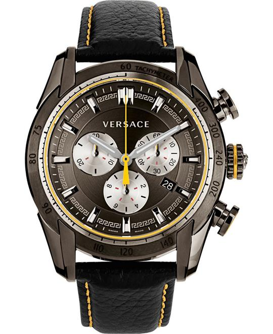 Versace V-Ray Chronograph Grey Watch 44mm