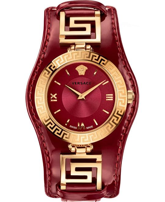 Versace V-SIGNATURE Swiss Red Watch 35mm