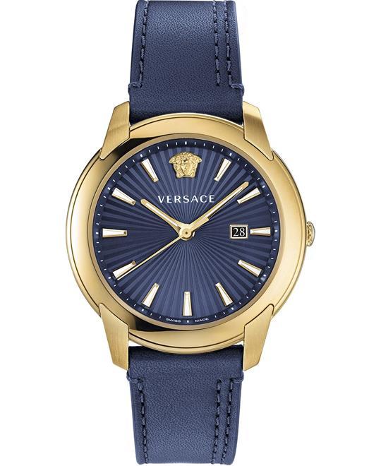 đồng hồ Versace V-Urban Blue Swiss Watch 42mm