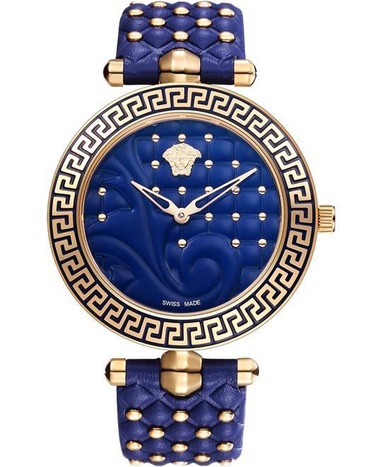 dong ho Versace Vanitas Blue Ladies Watch 40mm