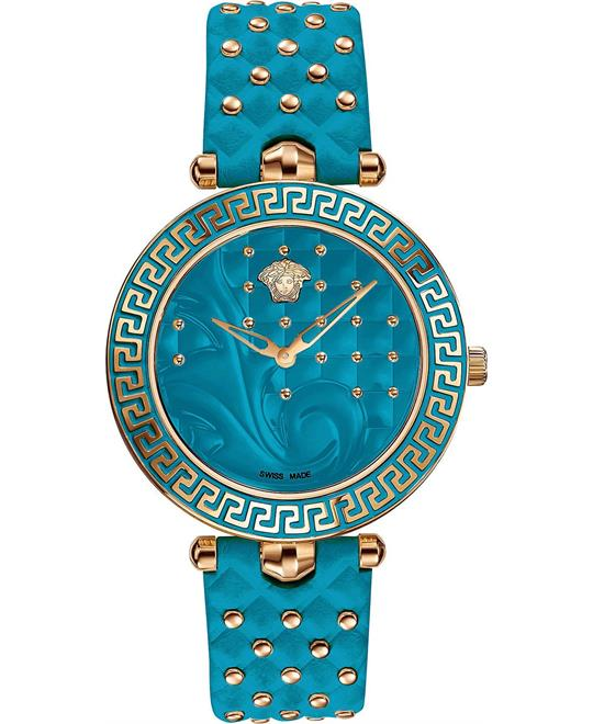 đồng hồ Versace Vanitas Gold Ion-Plated Watch 40mm