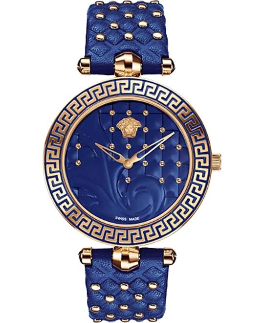 Versace Vanitas Rose Gold Ion-Plated Watch 40mm