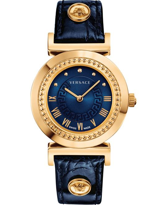 Versace Vanity Swiss Croco Watch 35mm