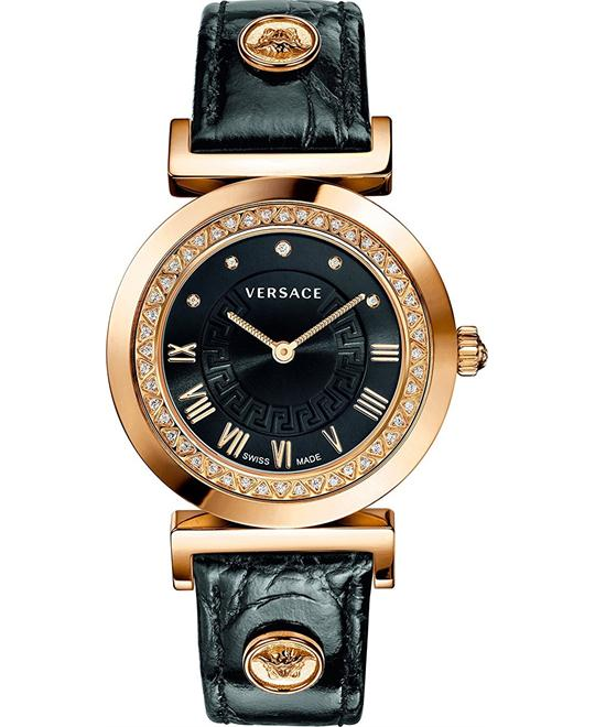 Versace Vanity Diamond Swiss Watch 35mm