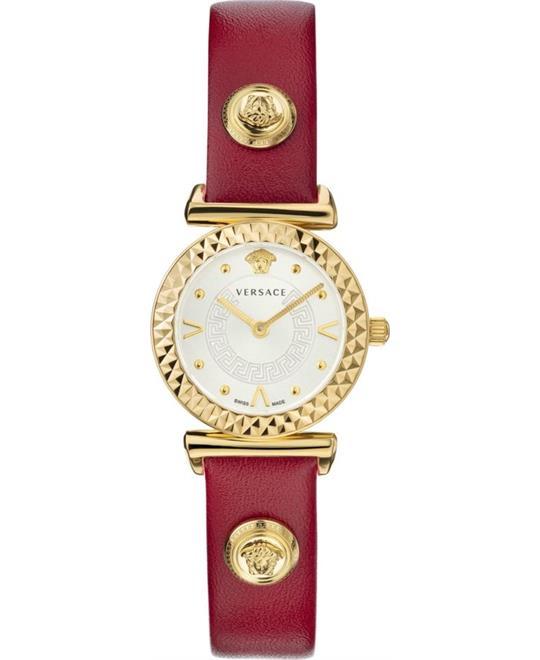 đồng hồ nữ màu đỏ Versace Vanity Mini Women watch 27mm