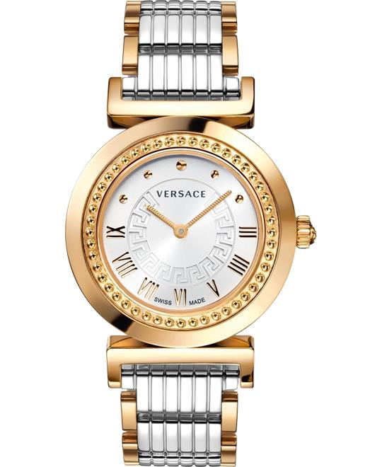 Versace Vanity Women's Swiss Watch 35mm