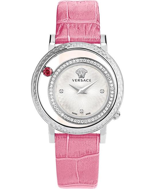 Versace Venus Diamond  Pink Watch 33mm