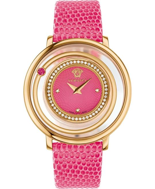 dong ho Versace Venus Diamonds Pink Watch 39mm