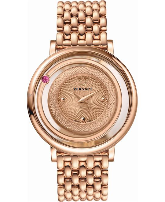 Versace Venus Rose Gold Ion-Plated Watch 39mm
