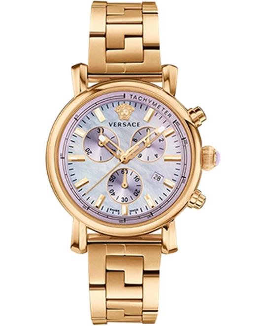 Versace Day Glam Gold Women's Watch 38mm