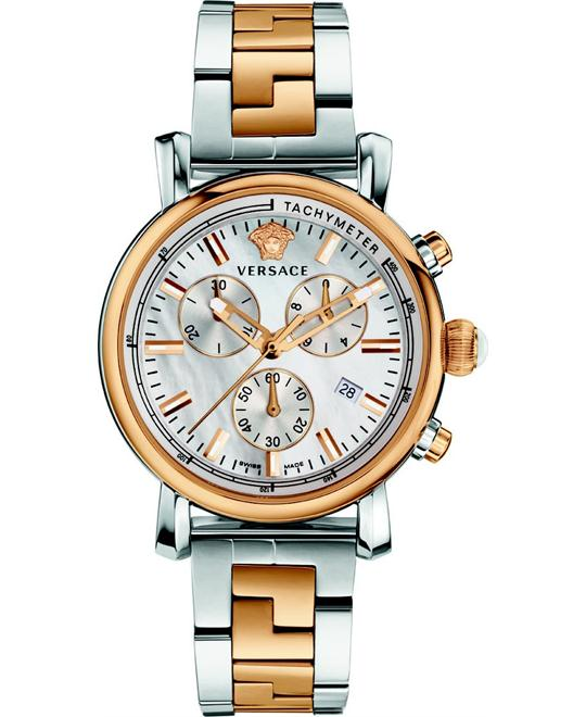 Versace Day Glam Chronograph Watch 38m