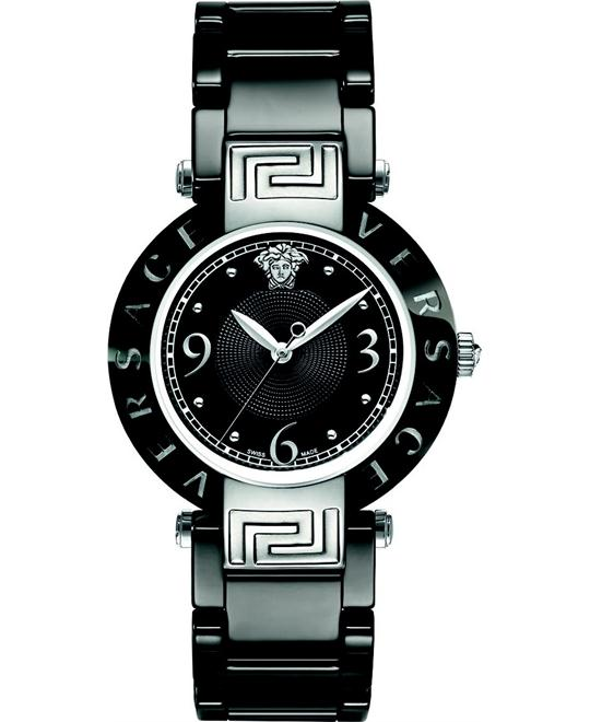 Versace Reve Ceramic 3H Round Watch 35mm