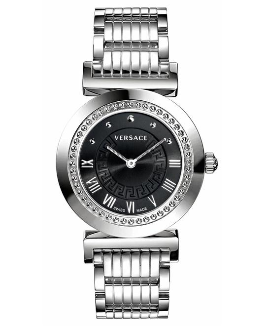 Versace VANITY Black Sunray Watch 35mm