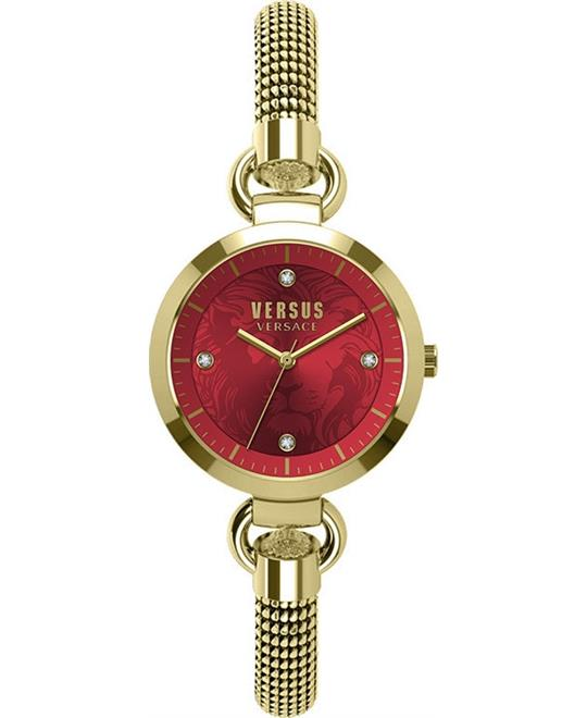 Versus By Versace Roslyn Mesh Watch 34mm