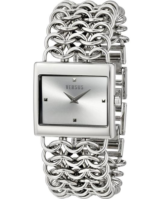 Versus by Versace Women's Analog Silver 30mm