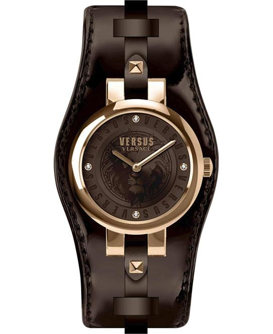 Versus by Versace Women's 'Berlin' Quartz Gold 30mm