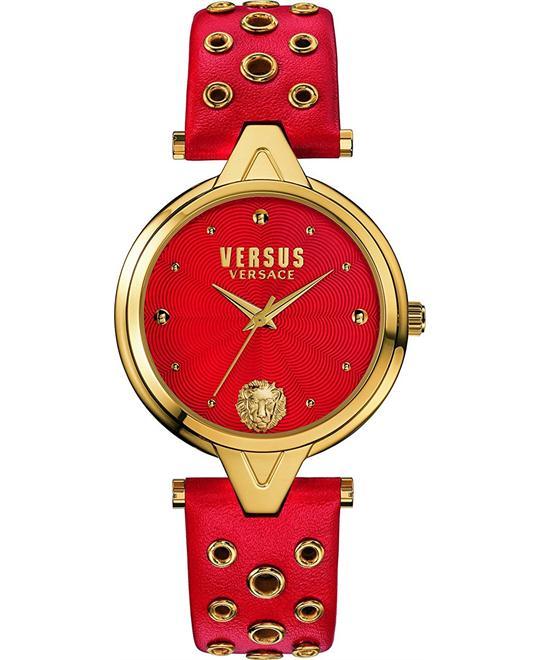 Versus by Versace Women's Leather Casual Watch 34mm