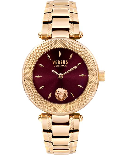 Versus Versace Brick Lane Analog Purple Watch 34mm