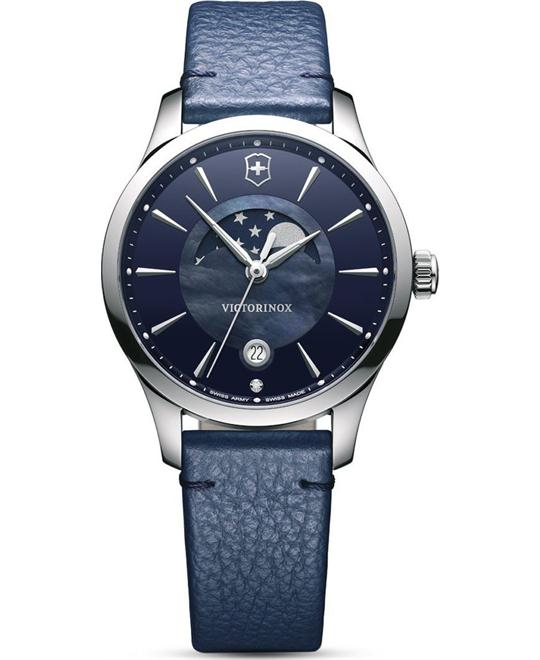 Victorinox Alliance Blue Mother of Pearl Watch 35