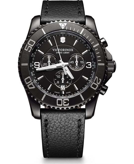 Victorinox Maverick Chronograph Black Edition 43