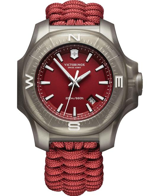 Victorinox Paracord Red Dial Men's Watch 43