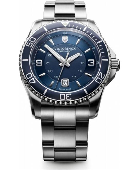 VICTORINOX Swiss Army Maverick GS Navy Watch 43mm