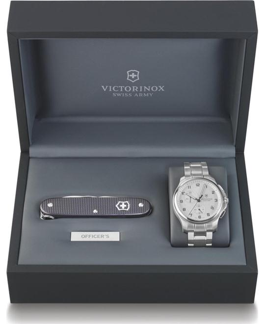 VICTORINOX Swiss Army Officers Chronograph Watch 42mm