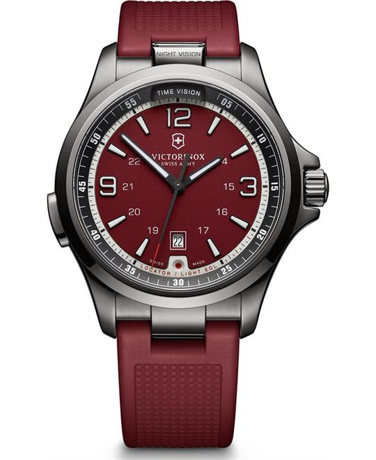 VICTORINOX Swiss Army Night Vision Watch 42mm