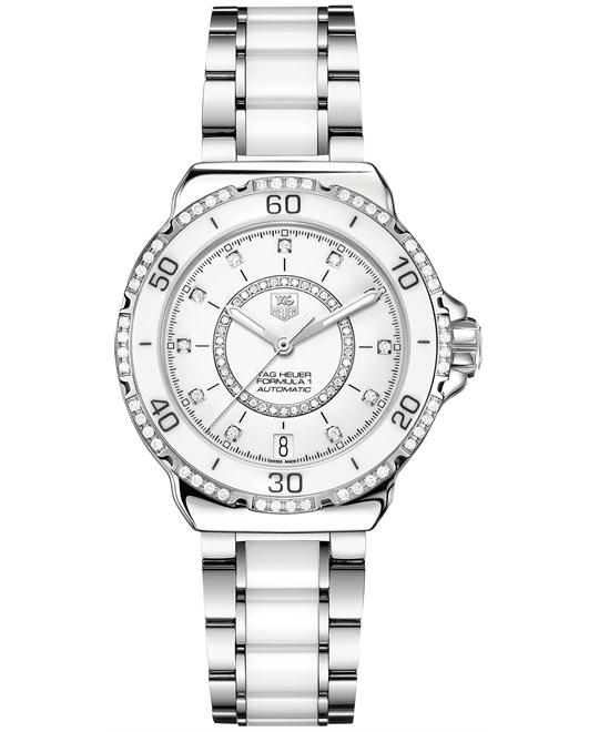 TAG Heuer WAU2213.BA0861 Formula 1 Diamond Ceramic 37mm