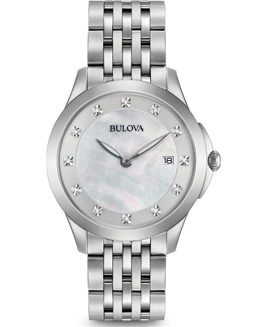 Bulova Classic Diamond Watch 36mm