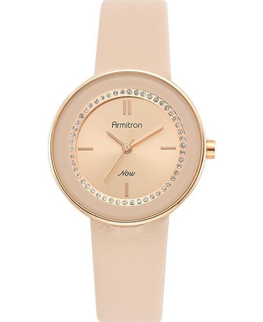 Armitron Women's Rose Gold Swarovski Watch, 32mm