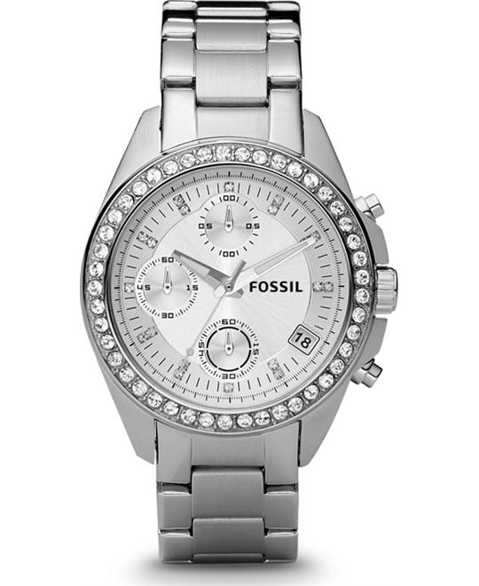 Women's Chronograph Decker Stainless Steel Bracelet 38mm