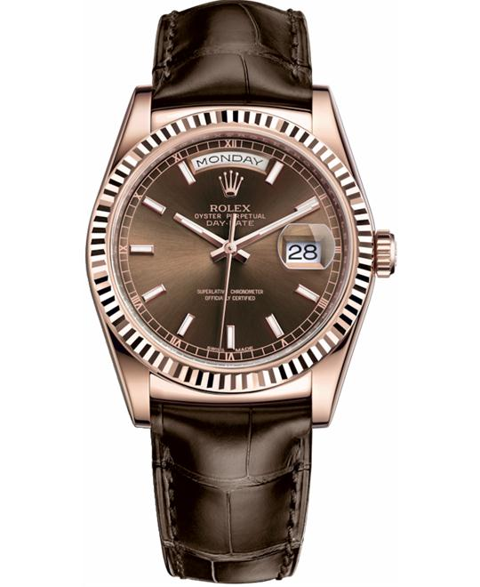 ROLEX OYSTER PERPETUAL 118135-0003 WATCH 36