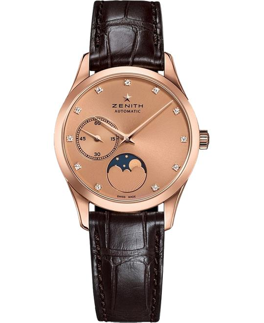 Zenith Captain Ultra Thin Moonphase Watch 33mm