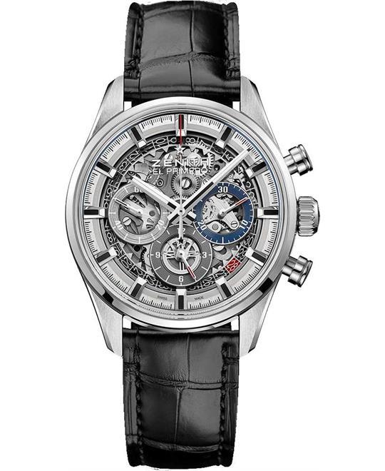 đồng hồ nam automatic Zenith Chronomaster El Primero Full Open 45mm